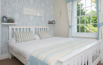 Isle of Wight, Accommodation, The Boat House, Double Bedroom