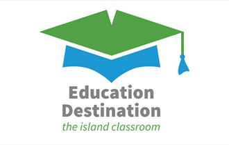 Education Destination logo, school trips, Isle of Wight