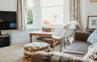 Lounge at 1 Drayton Cottage, Bembridge, Isle of Wight, Self catering