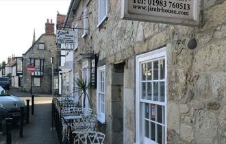 Outside of Jireh House - B&B, Tearoom, Yarmouth, Isle of Wight