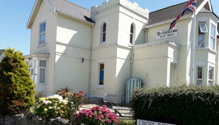 Outside of the Heatherleigh Bed and Breakfast, Accommodation, Shanklin, Isle of Wight
