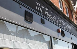 Isle of Wight, Eating Out, The Freshwater Coffee House, Outside Front