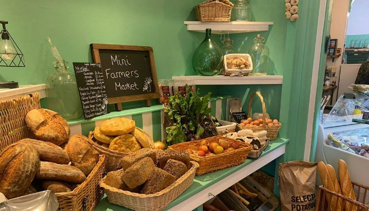 Variety of local produce including bread, eggs, vegetables at Pickle & Dill, Ryde, Farm Shop, Let's Buy Local