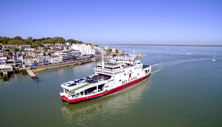 Red Funnel Vehicle Ferry