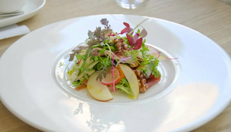 Fine dining at The Bistro, Ventnor, eat and drink