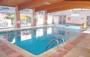 Swimming pool at The Wight - Isle of Wight accommodation