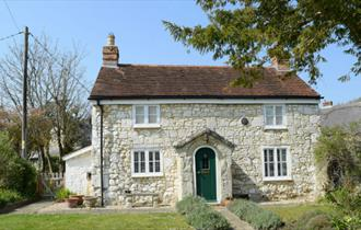 Outside of Weirside cottage, Isle of Wight, Accommodation, Self Catering, Brighstone