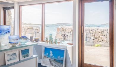 The view from Gallery Tresco