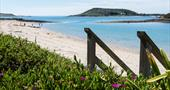 Access to the beach from a Flying Boat Cottage on Tresco