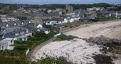 view of Little Porth and Porthcressa