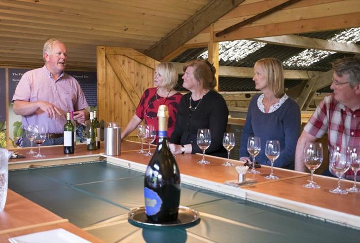 Wine Tasting at Holy Vale Vineyard