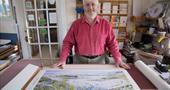 Stephen Morris, artist, Glandore Gallery, Isles of Scilly