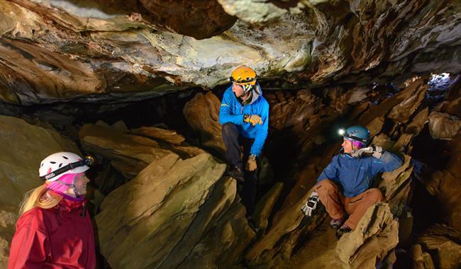 caving, dumdalen