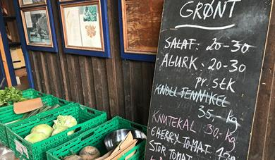 Nordgard Aukrust, herb garden and local food shop