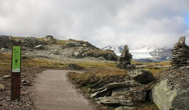 Viewpoint Sognefjellet