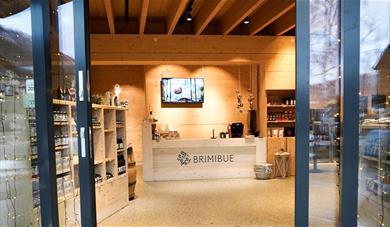 Entrance at BrimiBue.