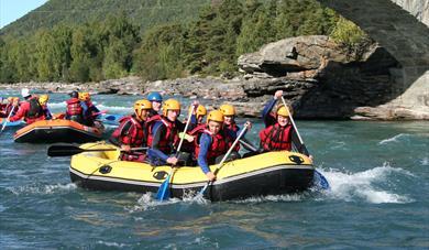Daytrip rafting Lom & Skjåk Adventure