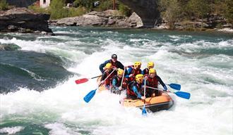 Skjåk Adventure - rafting