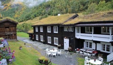 Røisheim hotel in Bøverdalen, Lom - Jotunheimen. Photo: Mari Arnøygard Wedum