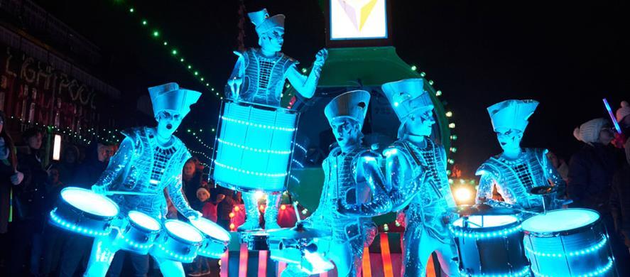 Blackpool Illuminations and Lightpool Festival