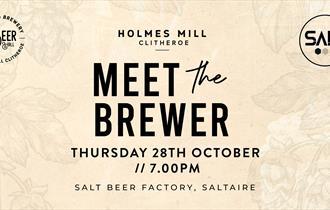 Meet The Brewer – Salt Beer Factory