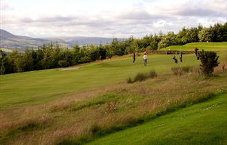 Longridge Golf Club 11th Green