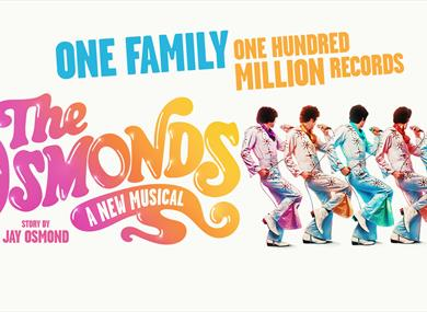 The Osmonds promotional poster