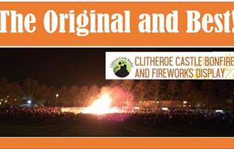 Clitheroe Castle Bonfire and Fireworks Display