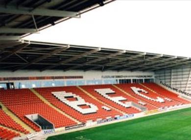 Blackpool Football Club, Bloomfield Road Stadium