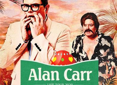 Alan Carr tour Blackpool Grand Theatre 2021 Not Again Alan!