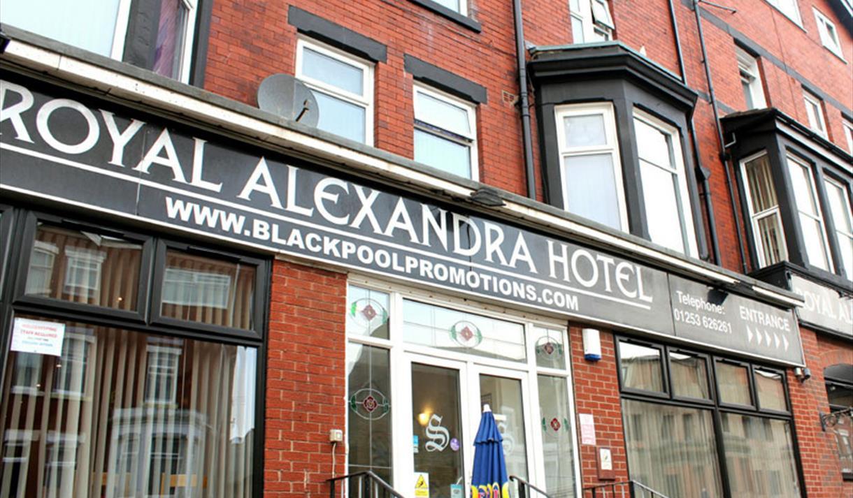 Royal Alexandra Hotel Exterior