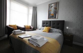 The Almeria Hotel Bedroom