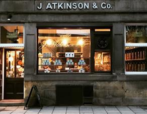 Exterior of Atkinson Coffee