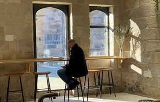 Kitchen Courtyard & Cafe at Lancaster Castle