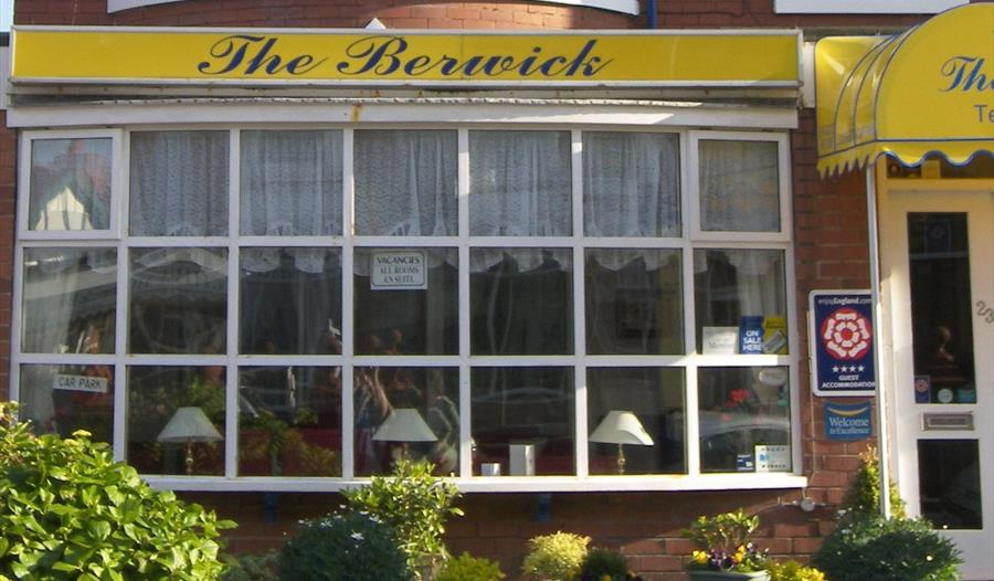 Front view of THe Berwick