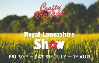 Crafty Vintage Village at Royal Lancashire Show