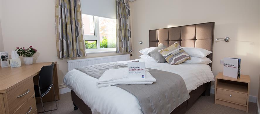 Lancaster Conferences double bedroom