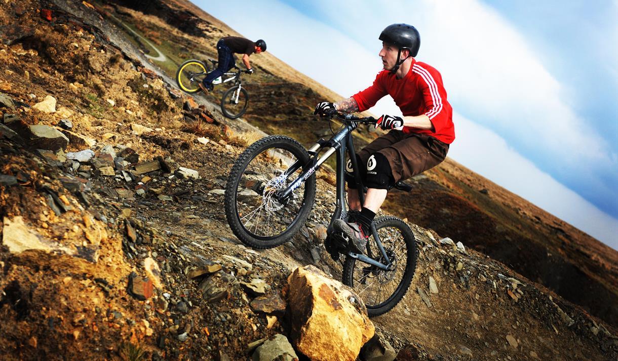 Cragg Quarry Mountain Biking