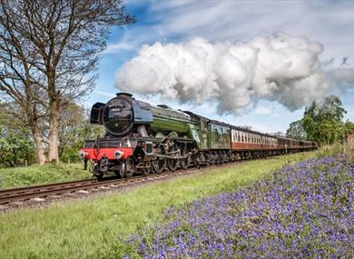 Flying Scotsman in action