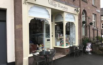 Exterior of The Village Tea Room