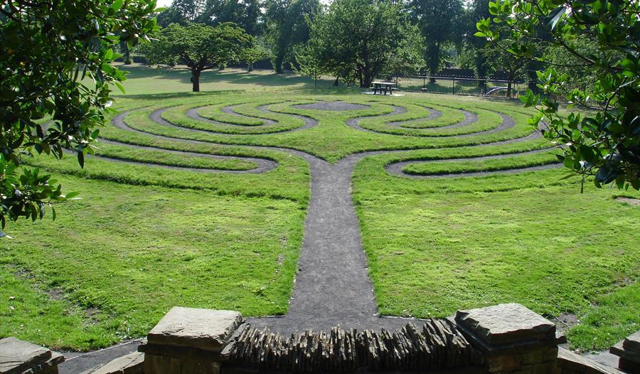 Clitheroe Castle Labyrinth