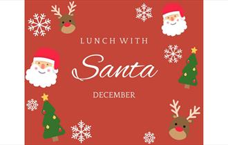 Lunch with Santa at The Wrightington Hotel