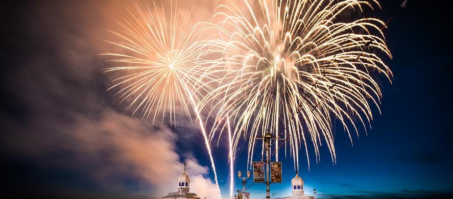 World Fireworks Championship Blackpool