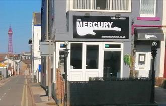 The Mercury frontage