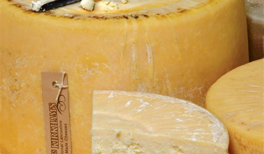 Mrs Kirkhams Lancashire Cheese