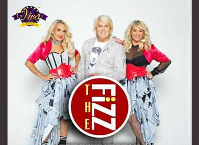 Promotional image of the three members of the group.