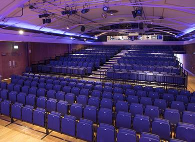 The layout at Lowther Pavilion theatre