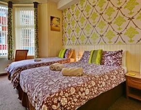 Tregenna Hotel Bedroom