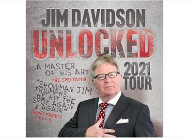 Jim Davidson Unlocked Tour 2021