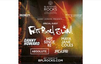 Blackpool Rocks Event Poster
